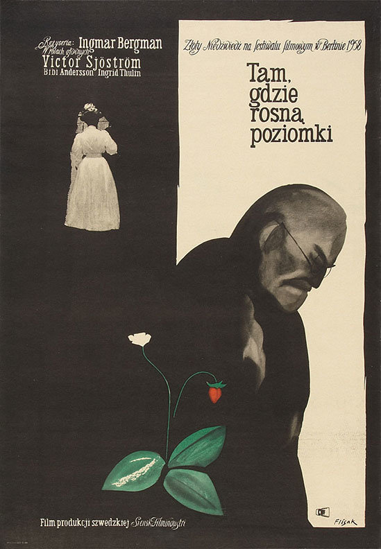 poster Wild Strawberries