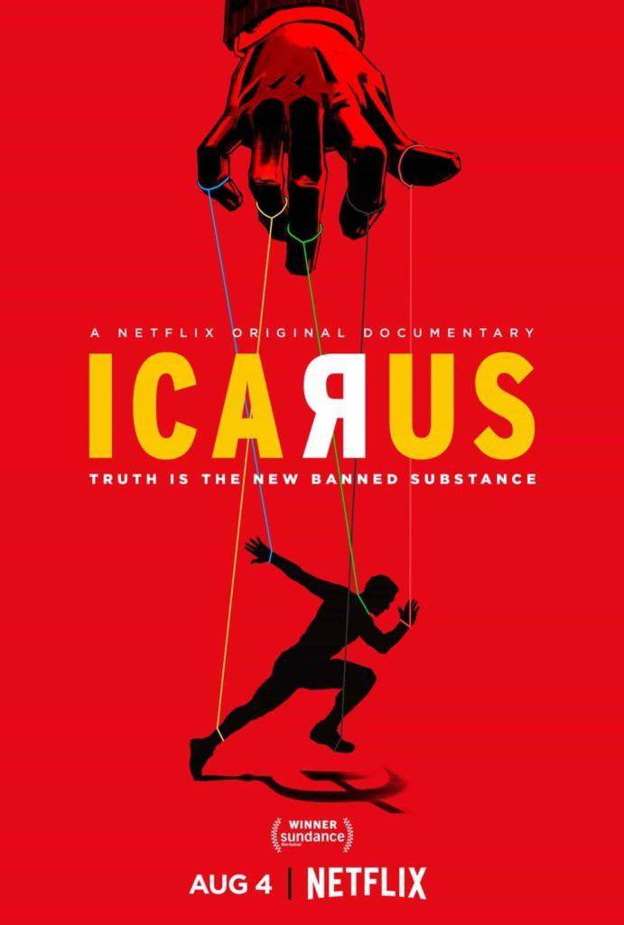 Ikar - Plakat, Netflix, Icarus