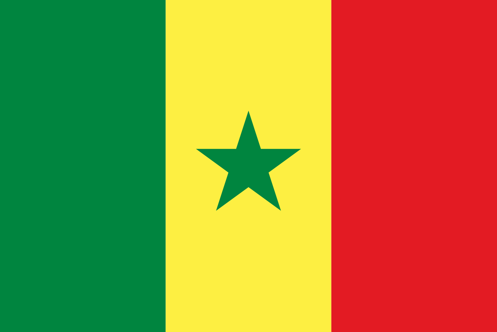 Senegal - flaga