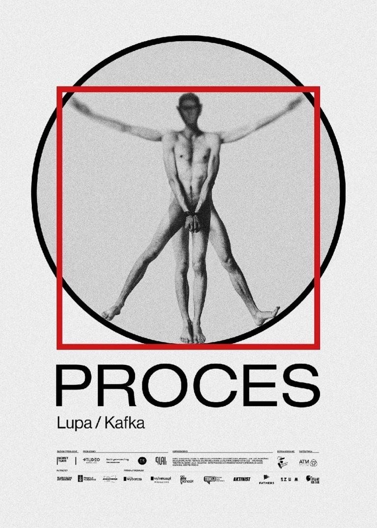 Proces - plakat