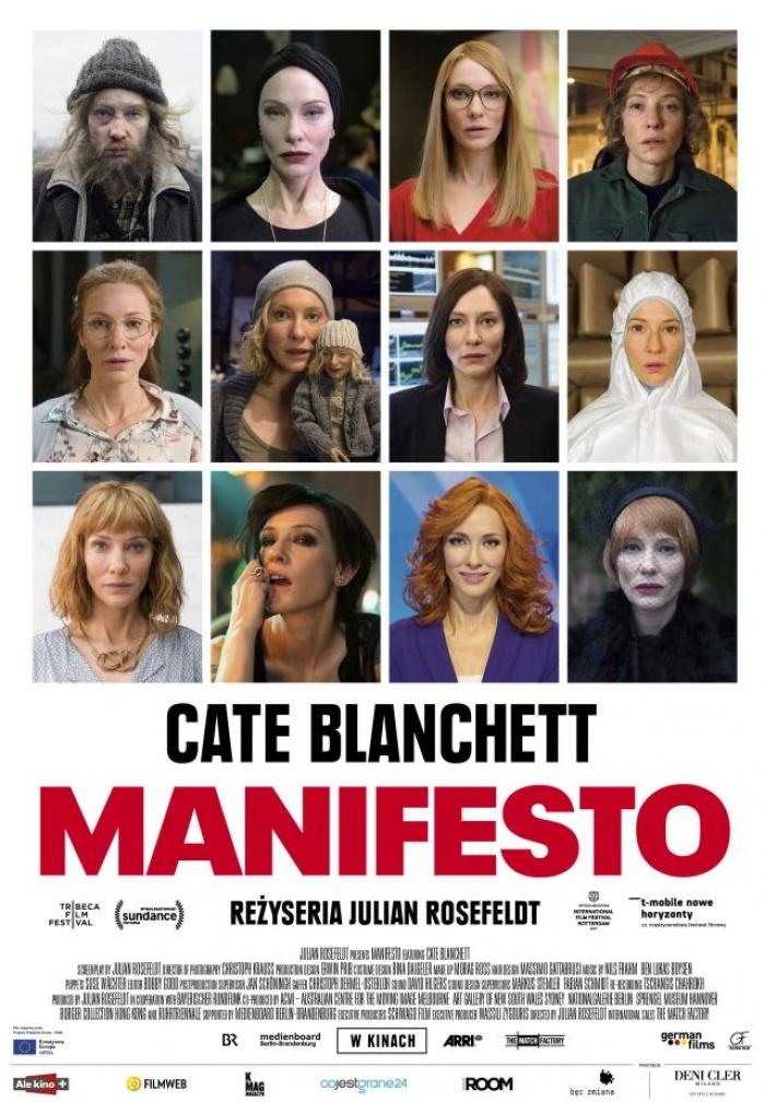 Manifesto - plakat polski