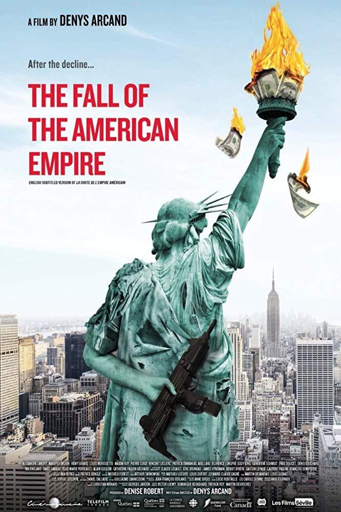 upadek amerykańskiego imperium plakat