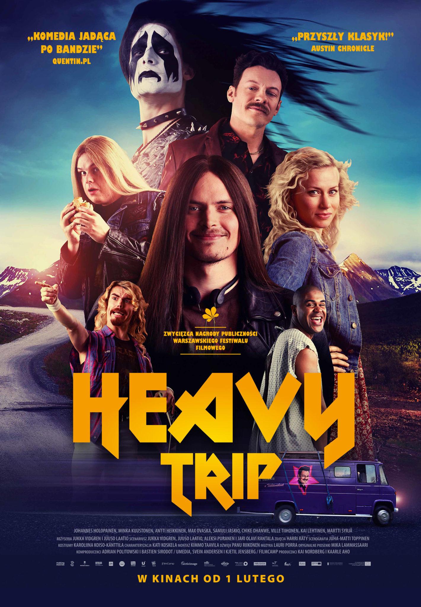 Heavy Trip plakat