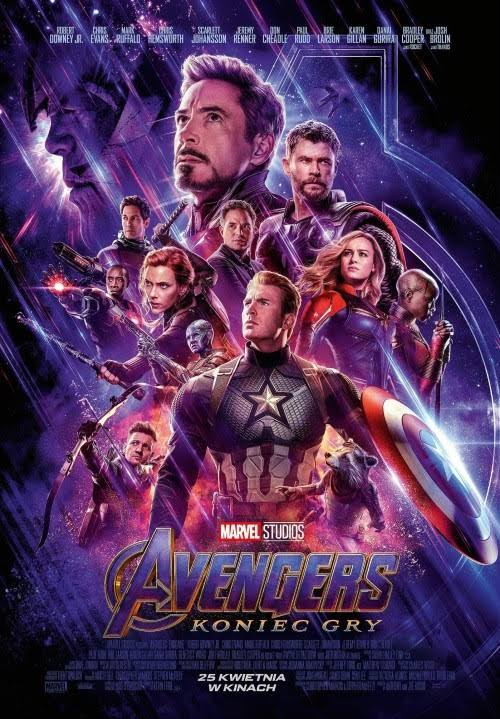 avengers koniec gry plakat