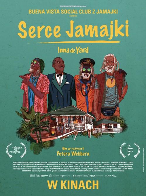 serce jamajki plakat