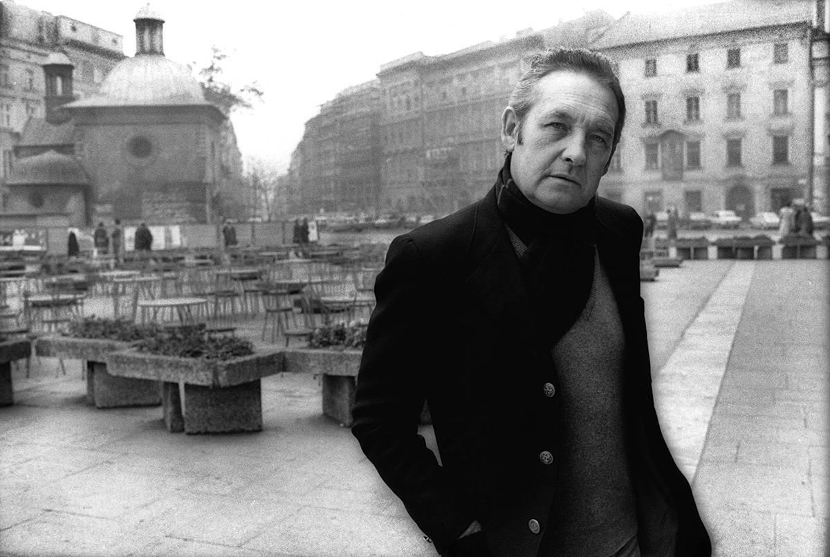 Andrzej Wajda (Fot. Joanna Helander ze zbiorow Osrodka KARTA)
