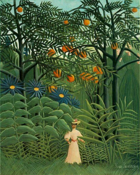 Metamorfozy ptaków - Rousseau