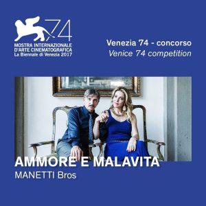 Ammore e Malavita - plakat Venice 74