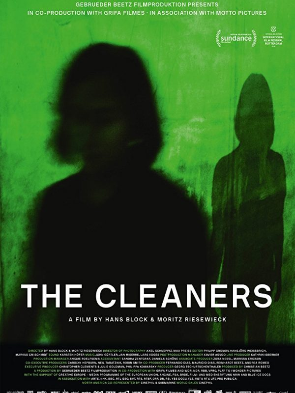 Cleaners plakat