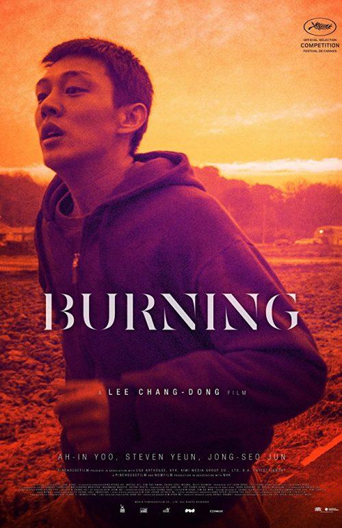 Burning Plakat
