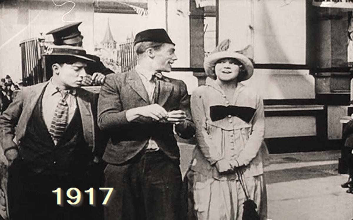 Sto lat w kinie – rocznik 1917