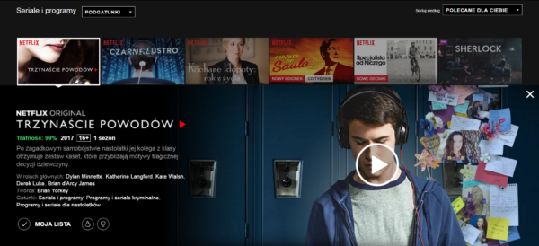 Nowy system oceniania na Netflixie to krok w złą stronę