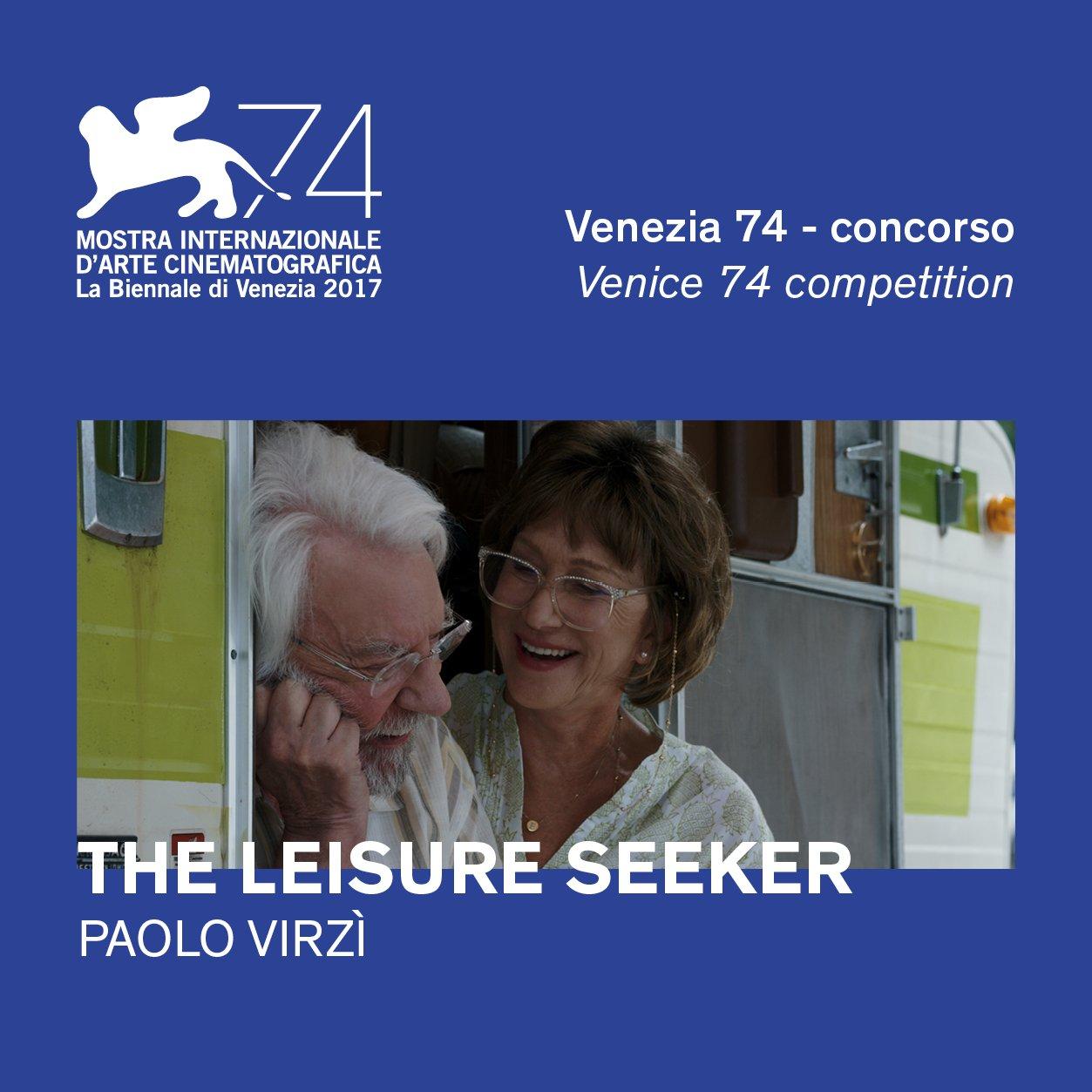 The Leisure Seeker - Plakat Festiwalowy - Wenecja '17