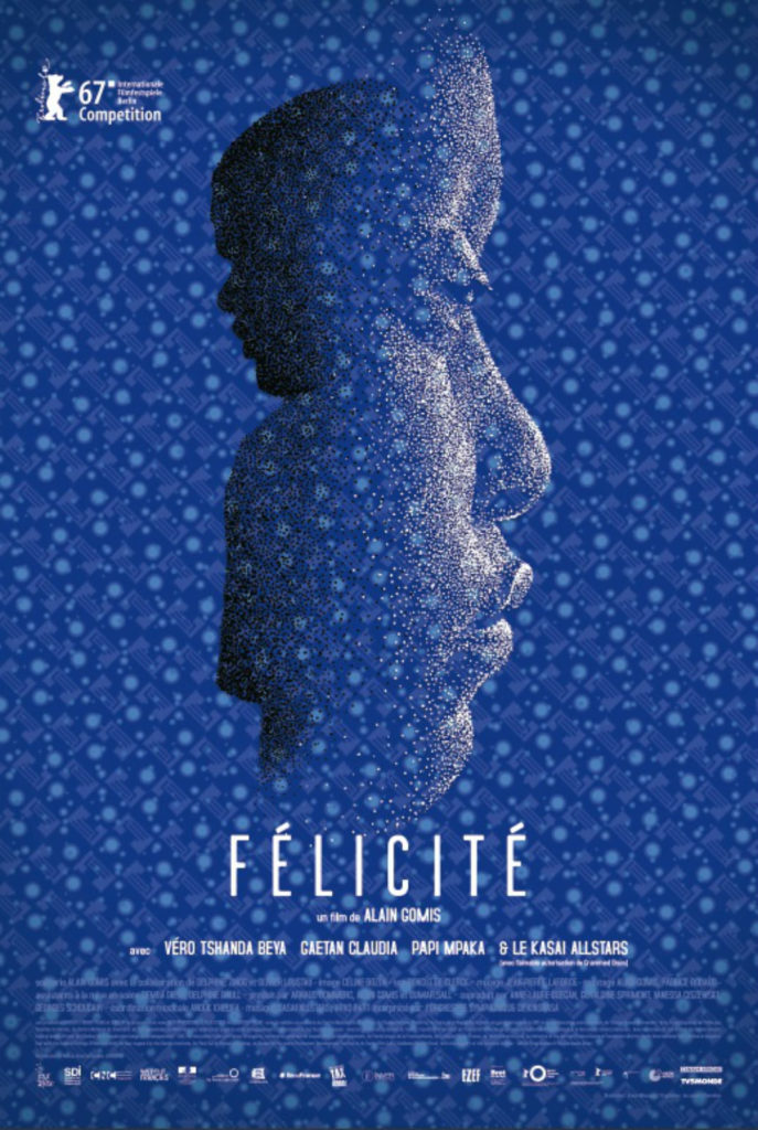 Felicite - poster - plakat - Alain Gomis