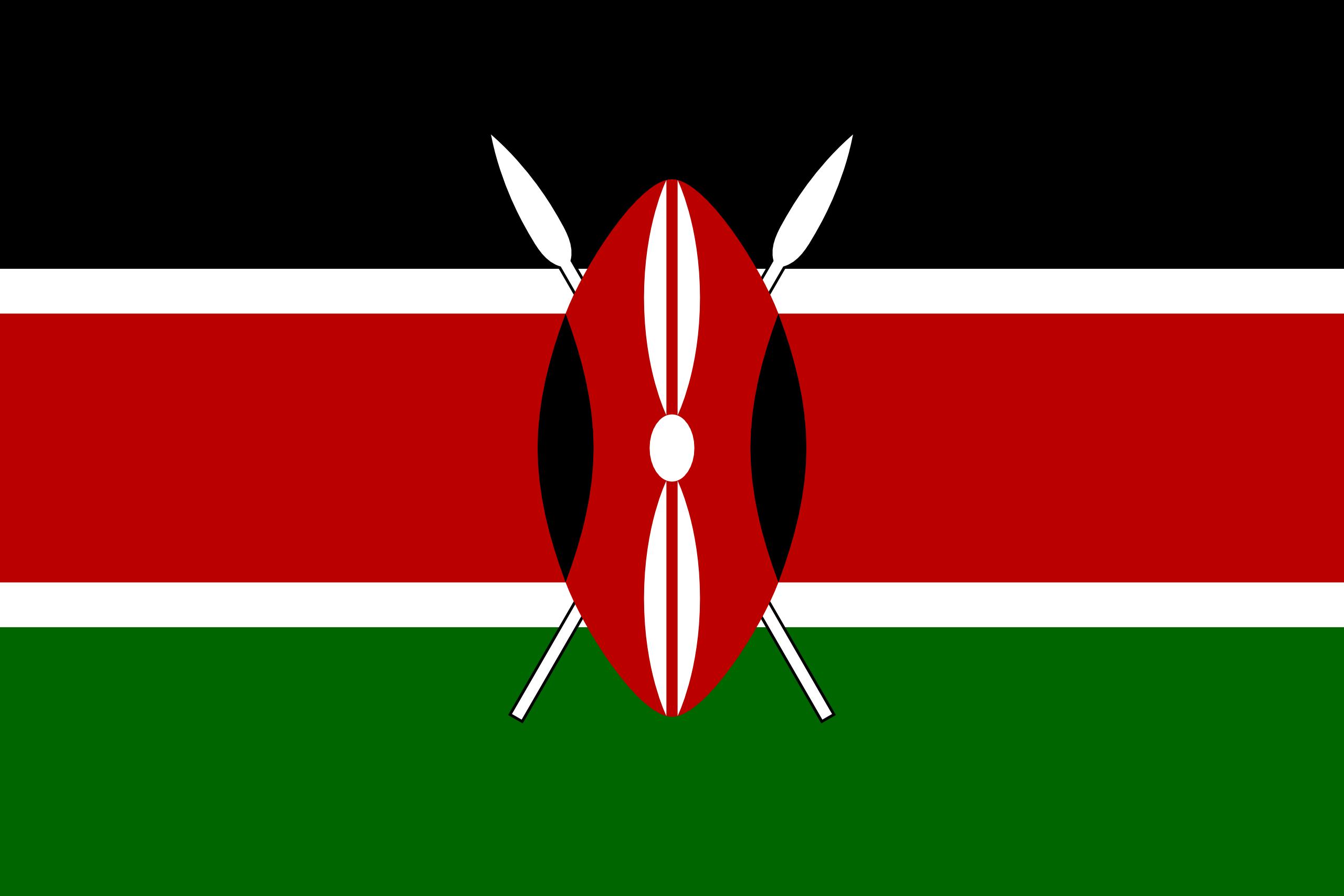 Kenia - flaga