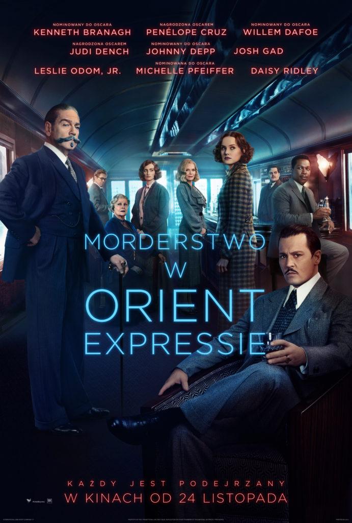 Morderstwo w Orient Expressie - Plakat