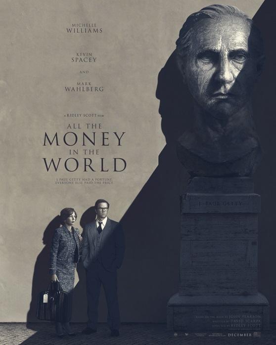 Wszystkie pieniądze świata - plakat