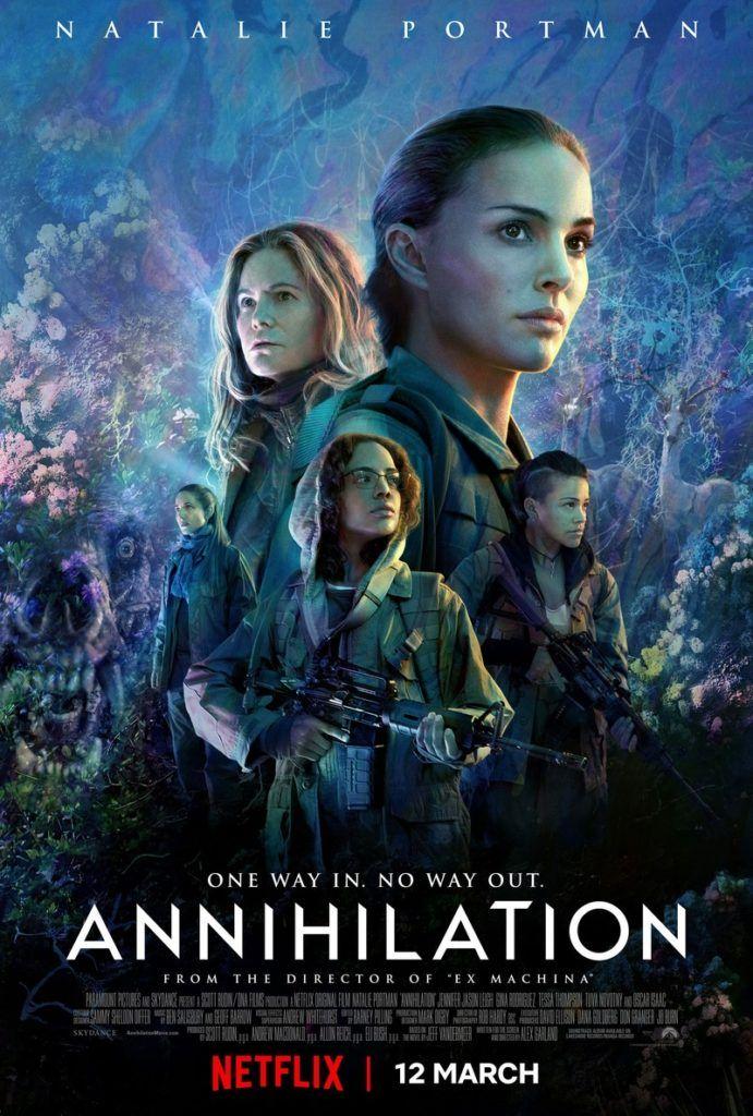 Anihilacja plakat