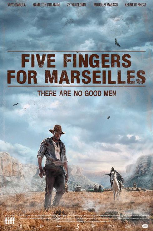 Pięć palców dla Marsylii plakat