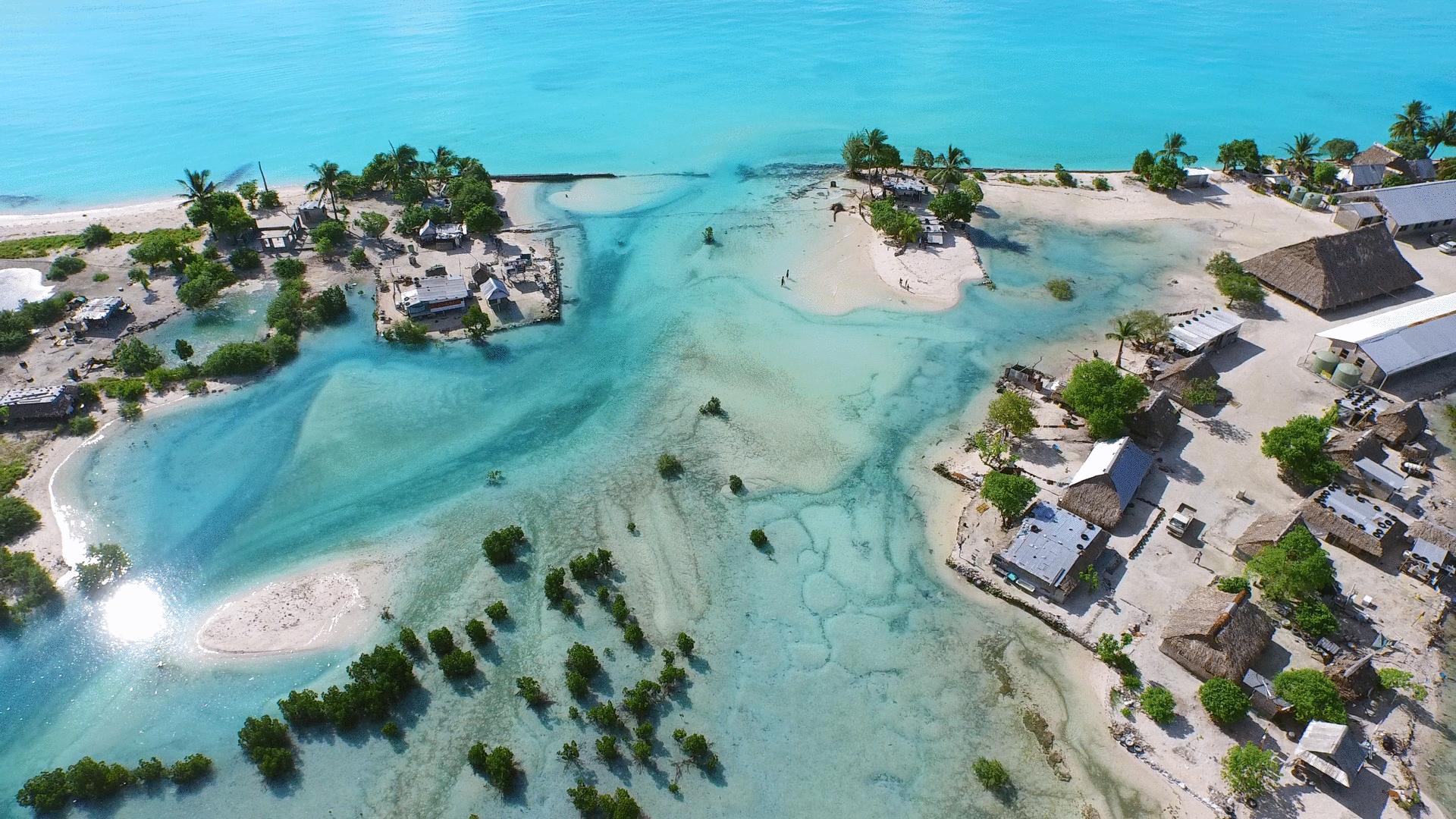znikająca wyspa