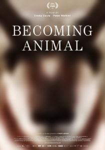 Stając się zwierzęciem plakat