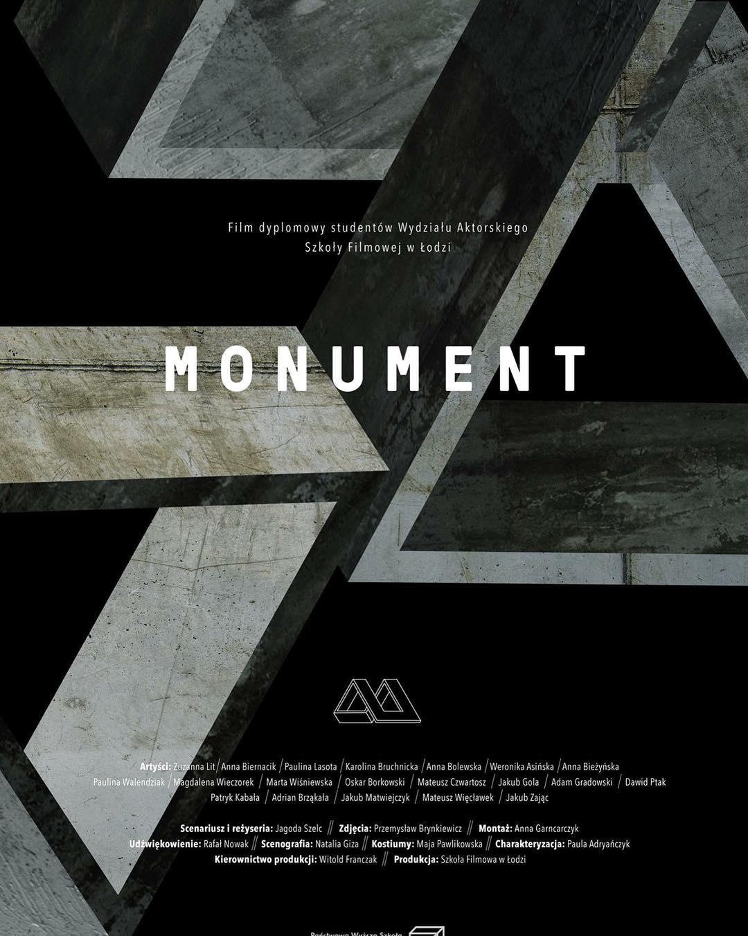 plakat filmu Monument