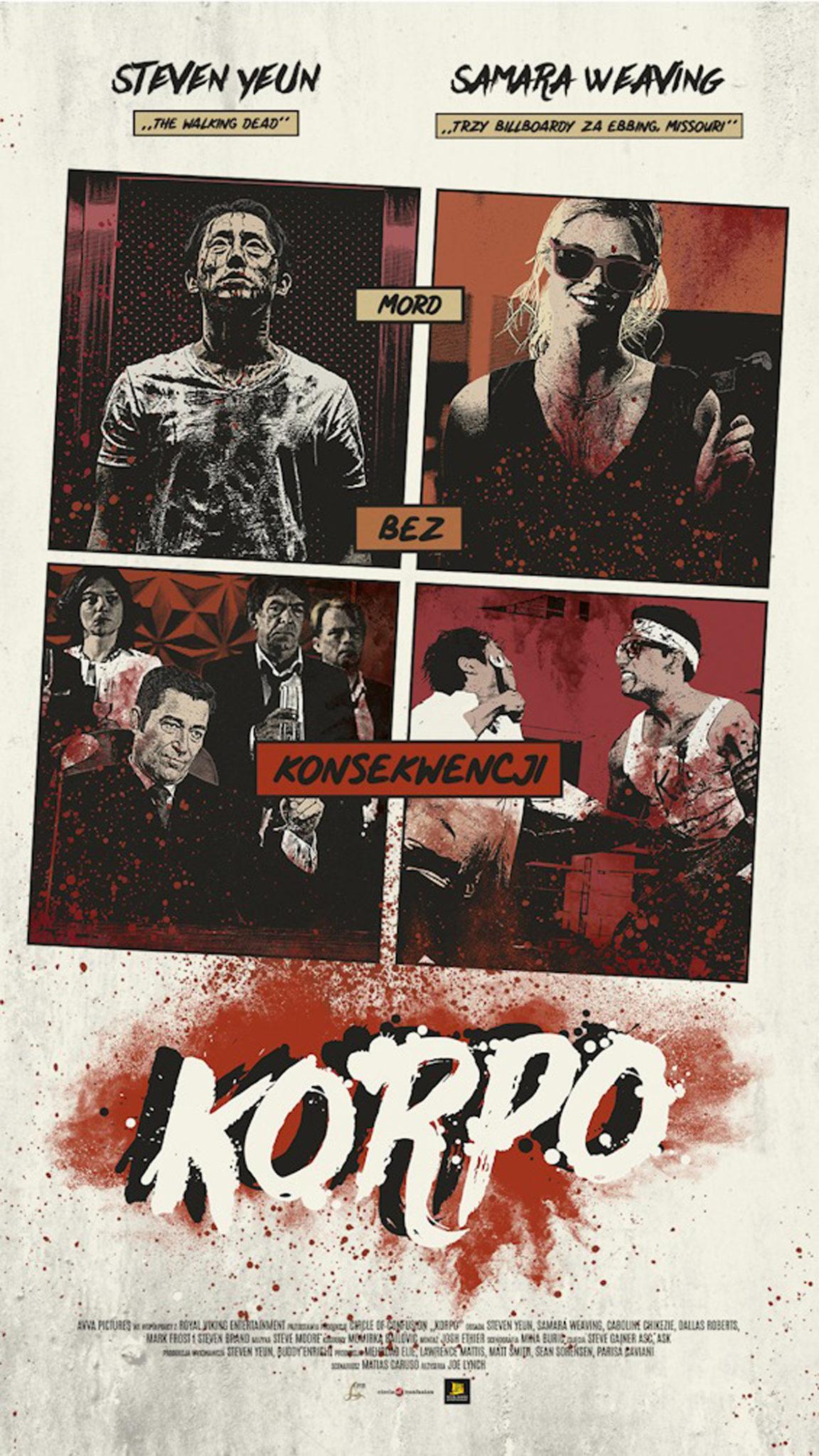 Plakat Korpo
