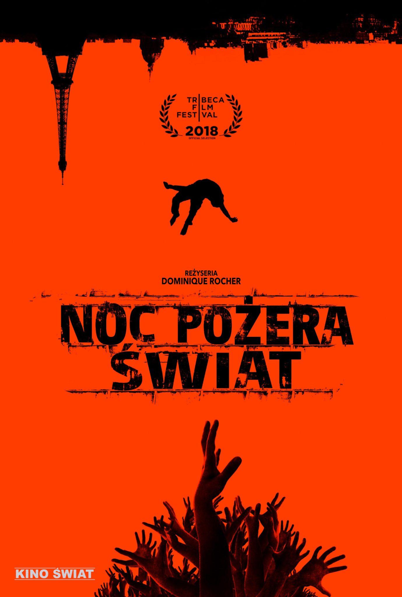 NOC POŻERA ŚWIAT - plakat