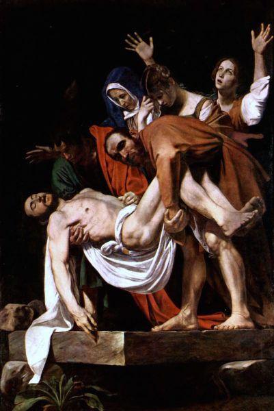 złożenie do grobu caravaggio