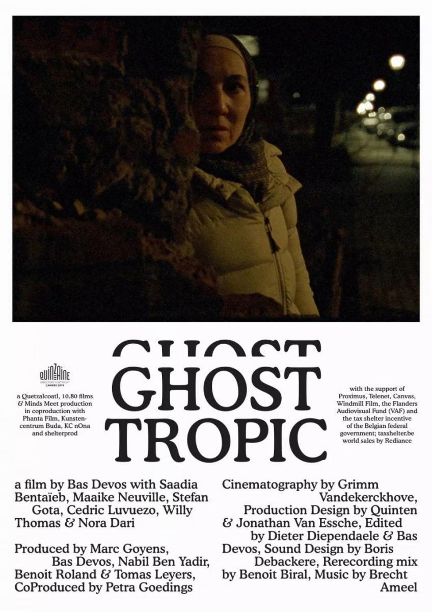 ghost tropic plakat
