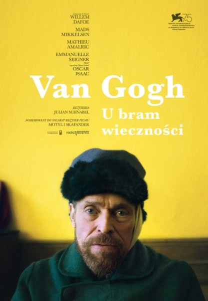 Van Gogh. U bram wieczności plakat