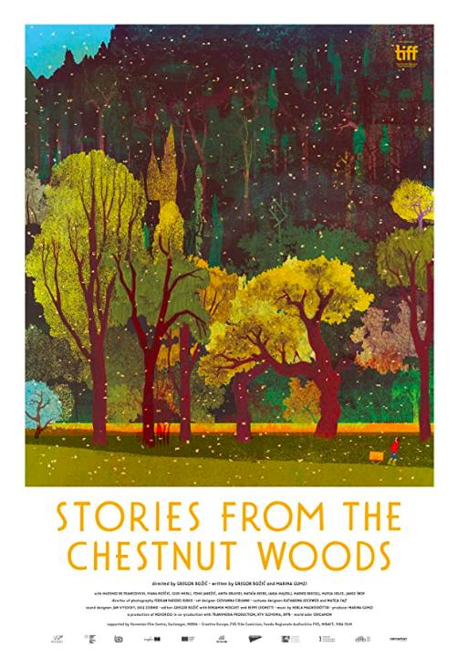 Opowieści z kasztanowego lasu plakat