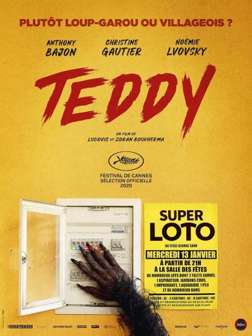 Teddy plakat