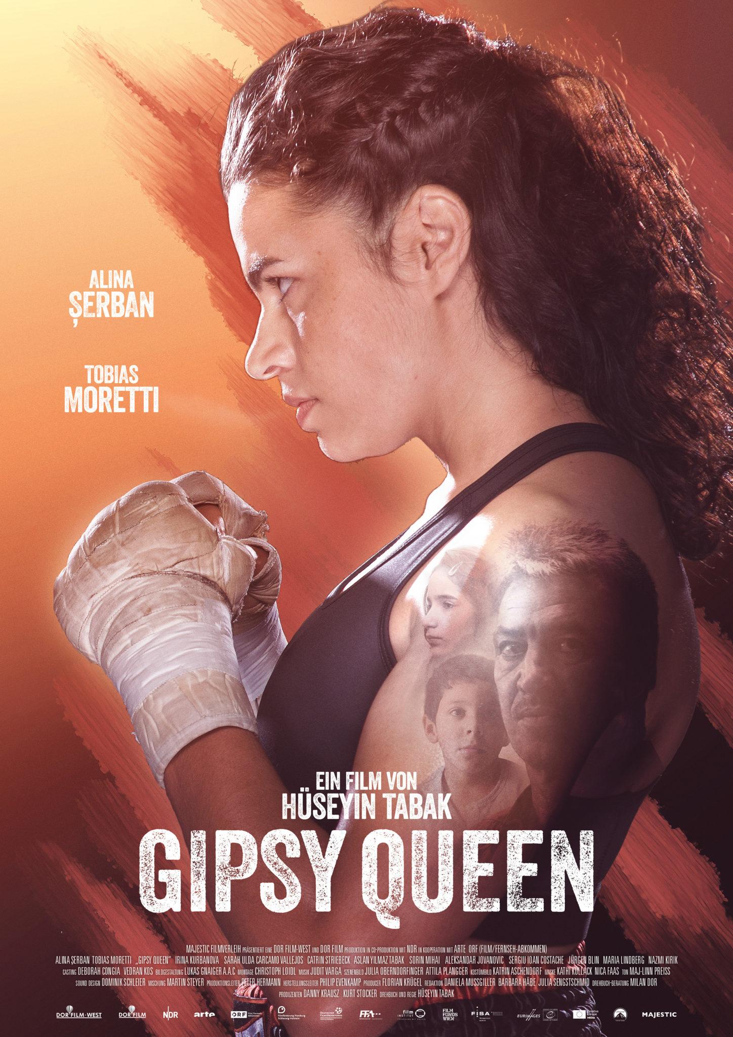 plakat cygańska królowa