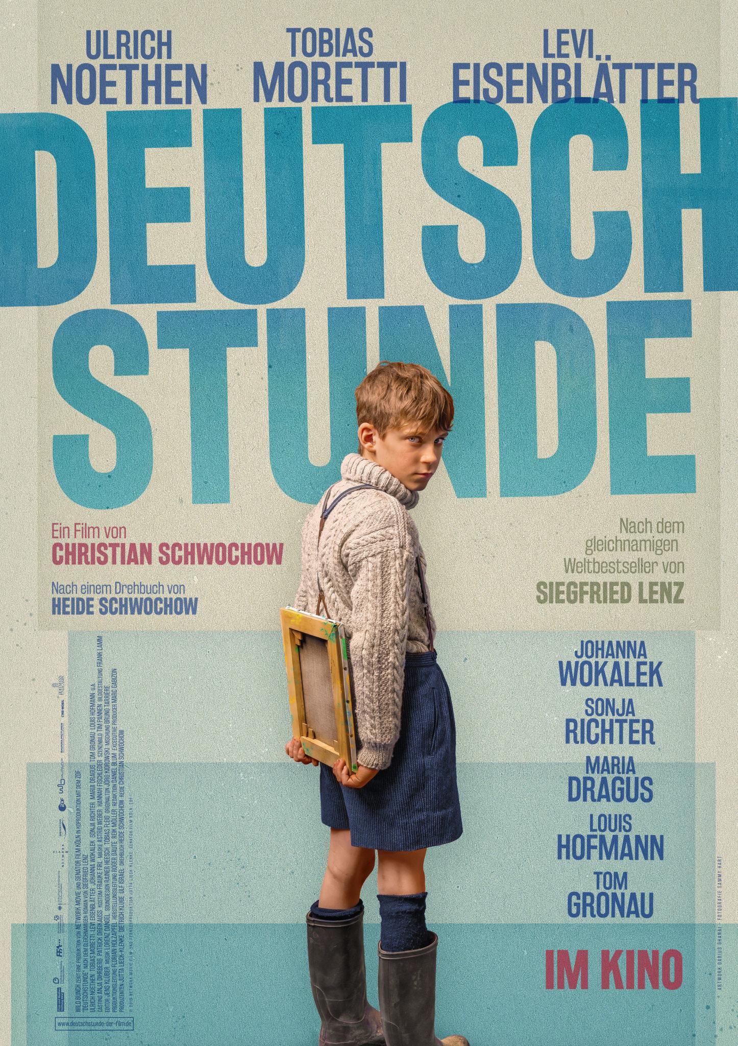 Lekcja niemieckiego plakat