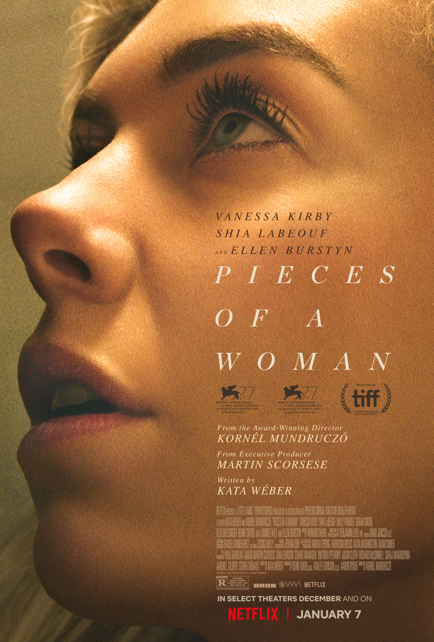 Cząstki kobiety plakat