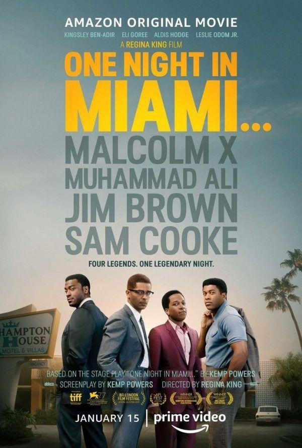 One Night in Miami plakat