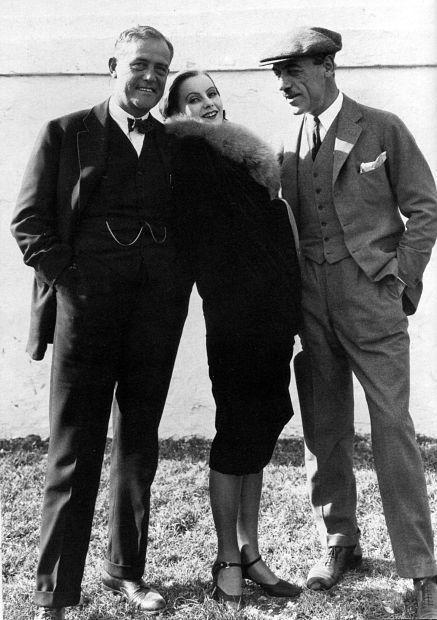 Victor Sjöström, Greta Garbo i Mauritz Stiller
