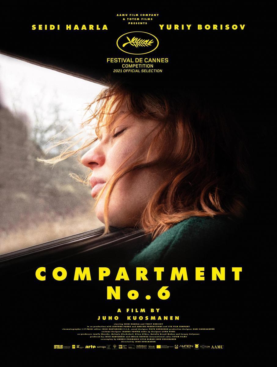 Compartment no. 6 plakat