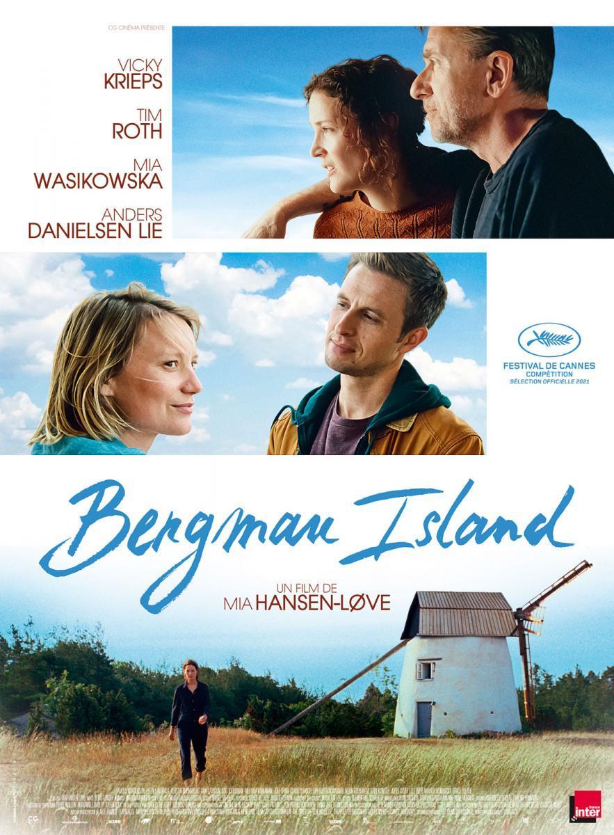 Wyspa Bergmana plakat