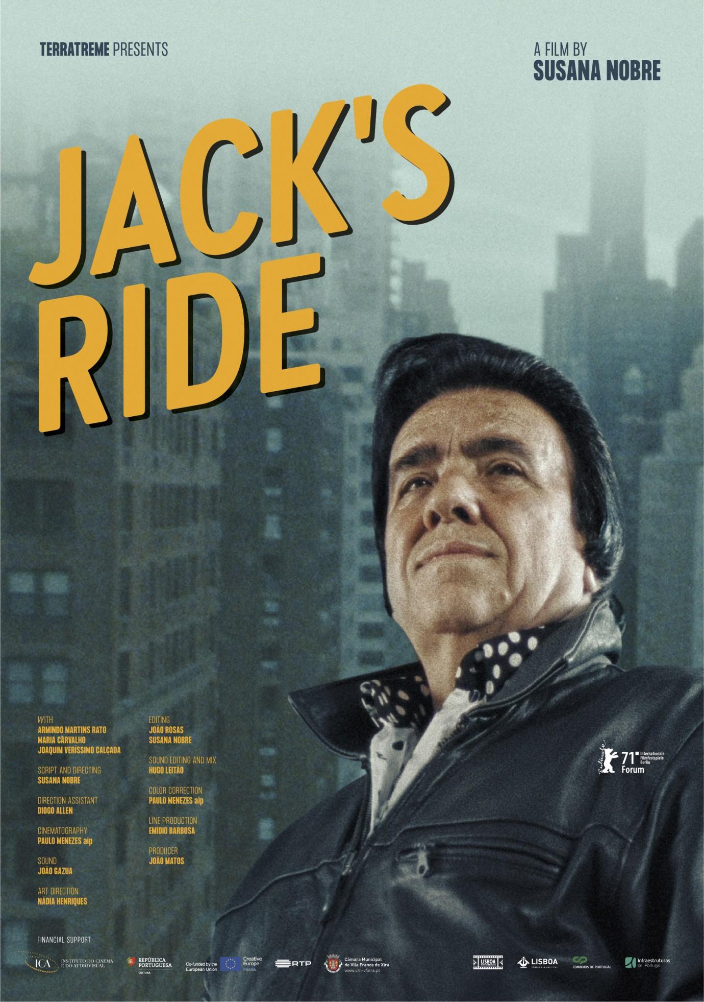 Przejażdżka z Jackiem plakat