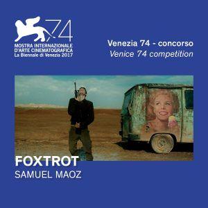 Foxtrot - Plakat Festiwalowy - Wenecja
