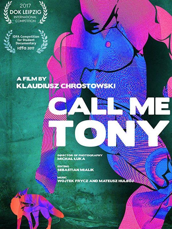call me tony plakat